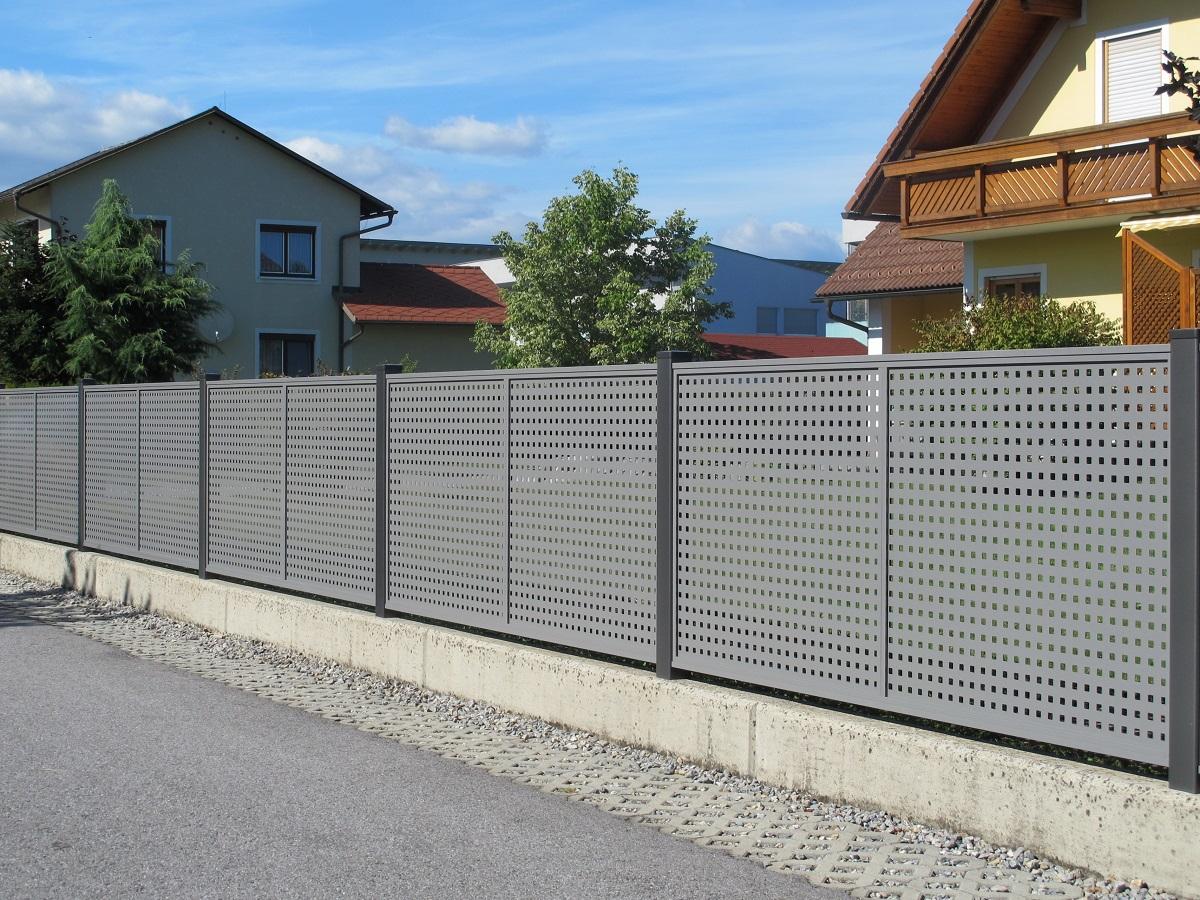 Clôtures aluminium > FLAT DESIGN