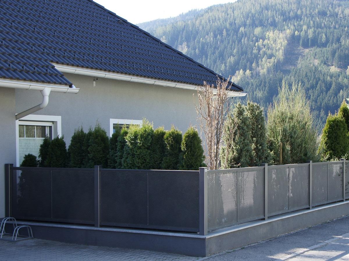 Clôture aluminium > FLAT DESIGN