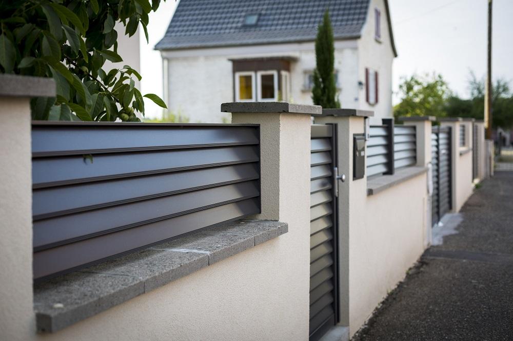 modèle Clôture aluminium photo n°3/3