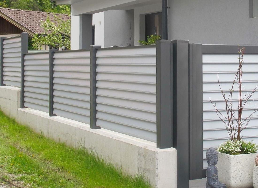 Clôtures aluminium > LAMELLO