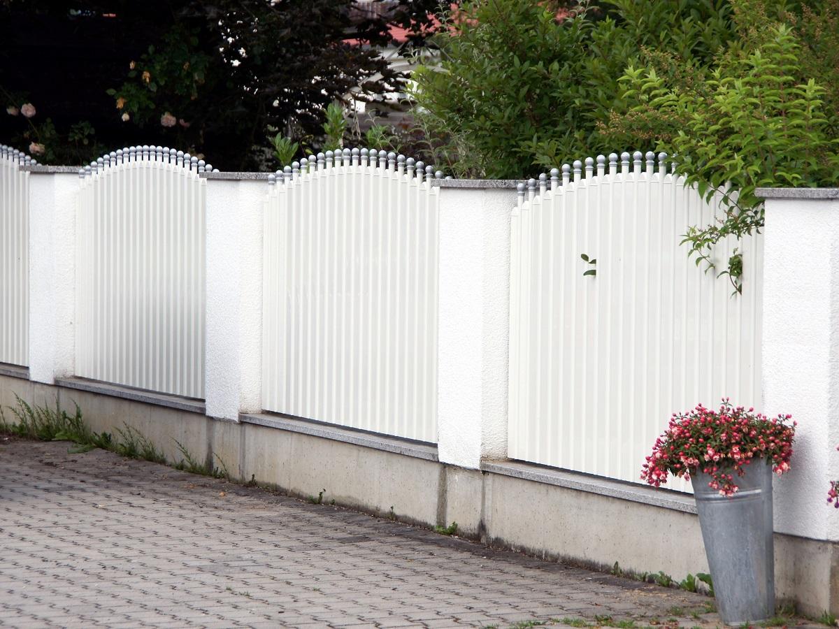 Clôtures aluminium > LATTES ET BARREAUX