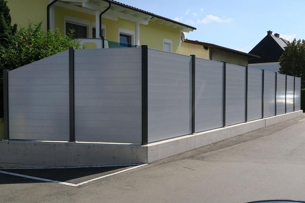 Clôtures aluminium > BRISE VUE OU PARE VUE