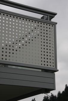 Photo n°3/6 : Habillage nez de dalle en aluminium