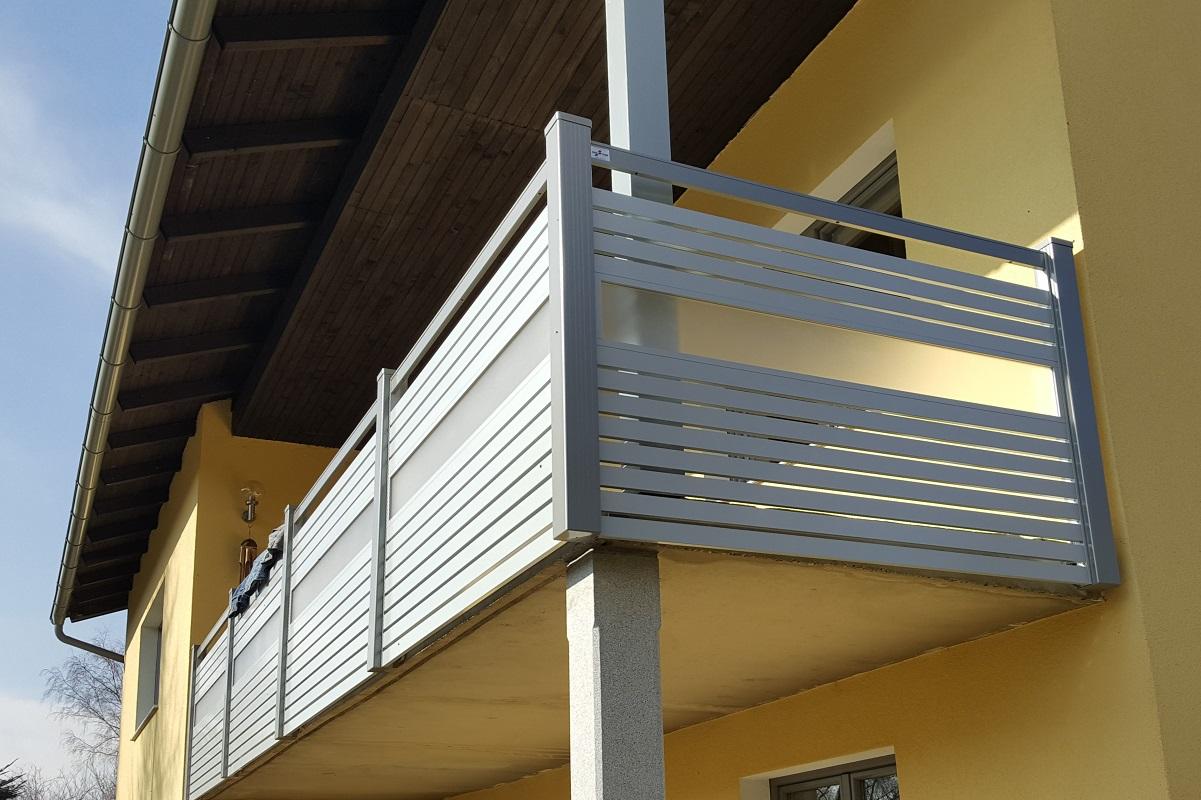 Garde corps aluminium > STAKETTO horizontal