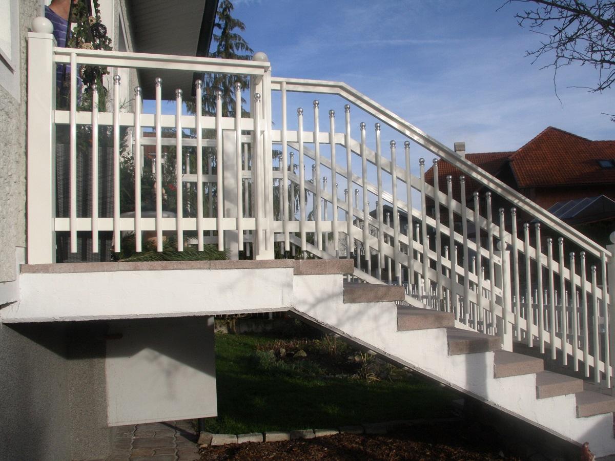 Garde corps aluminium ou vitré > Palissade