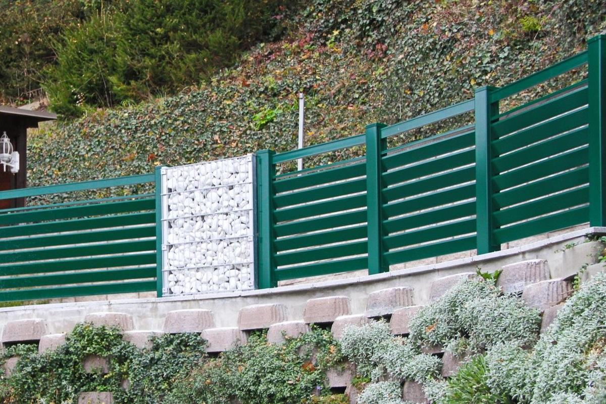 Garde corps aluminium > Lamello