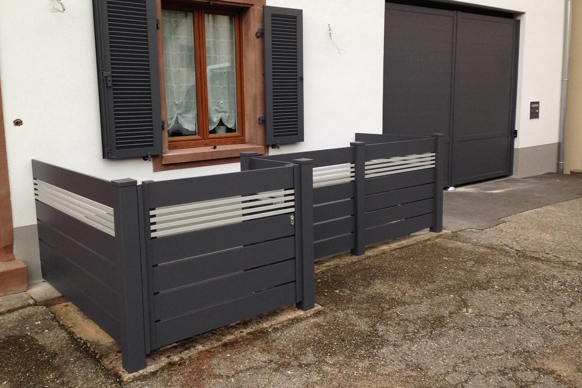 Garde corps aluminium ou vitré > Frontline horizontal