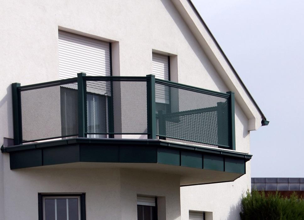 Garde corps aluminium ou vitré > Flat Design