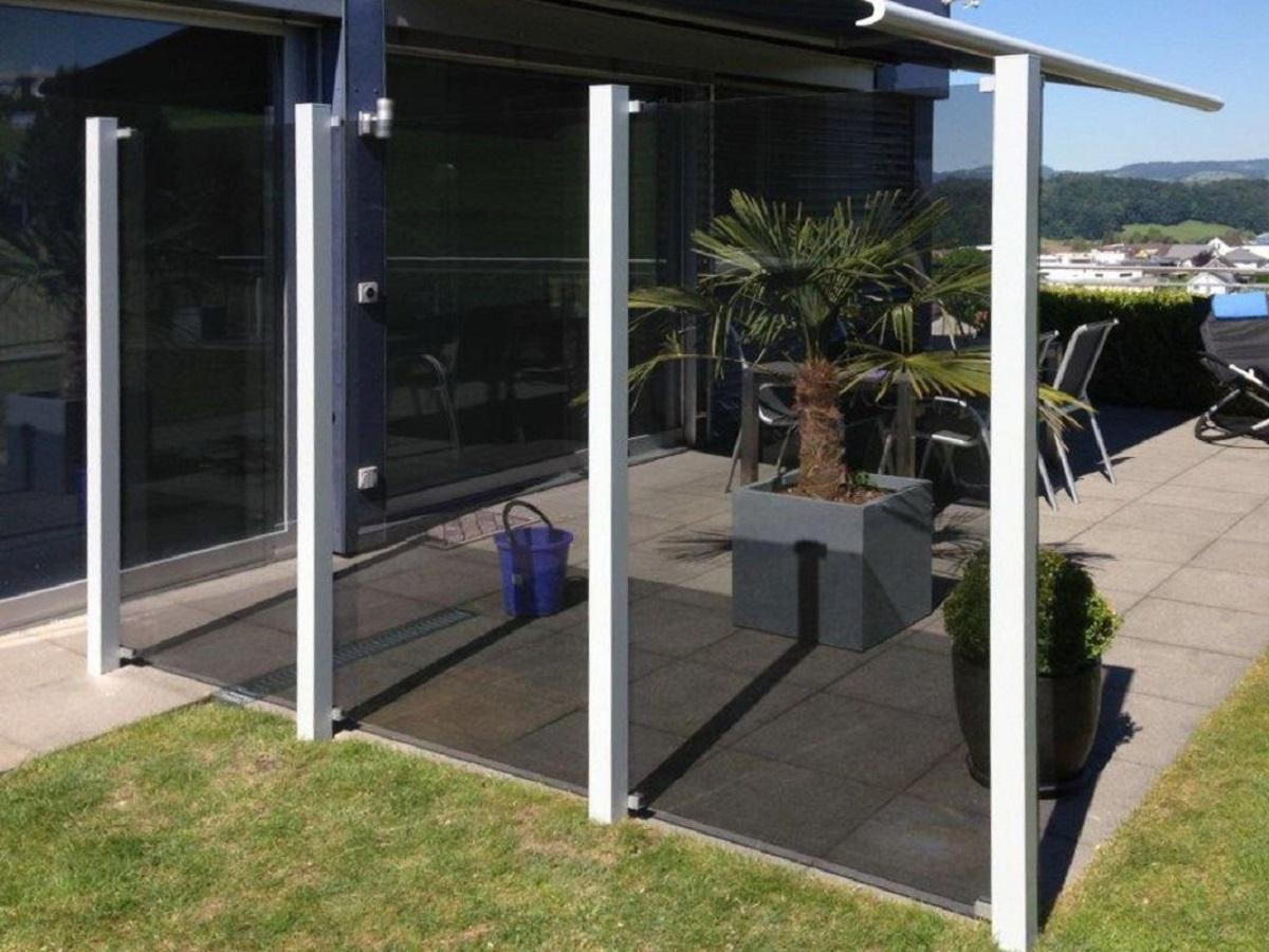 Garde corps aluminium > Glass Clips