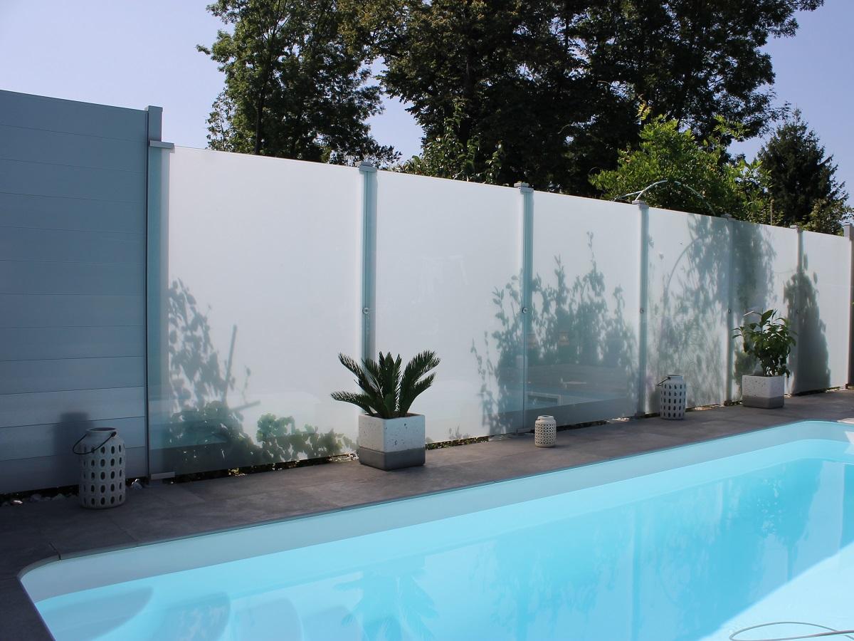 Garde corps aluminium ou vitré > Glass Clips