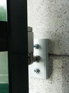 Photo n°1/1 : Platine de fixation sur maçonnerie pour paumelles