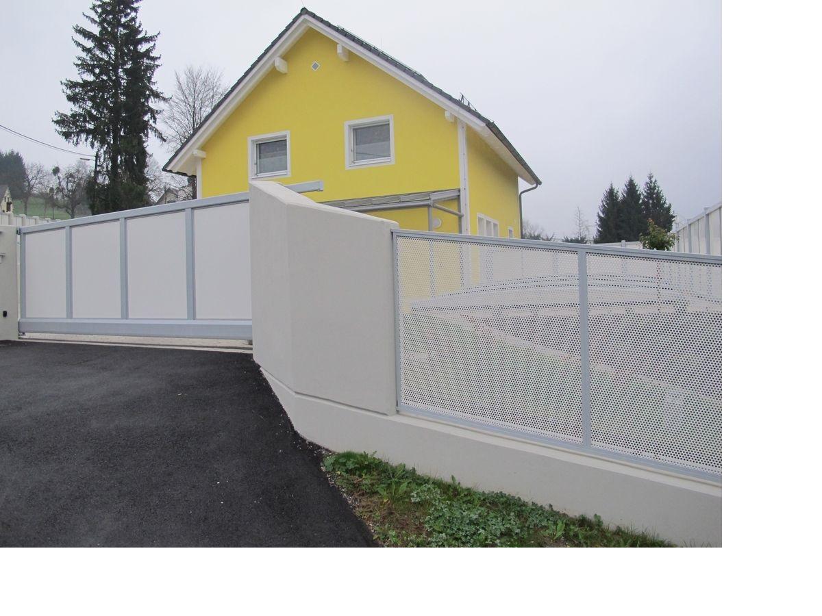 Portails coulissants autoportants > Flat Design - PLEIN