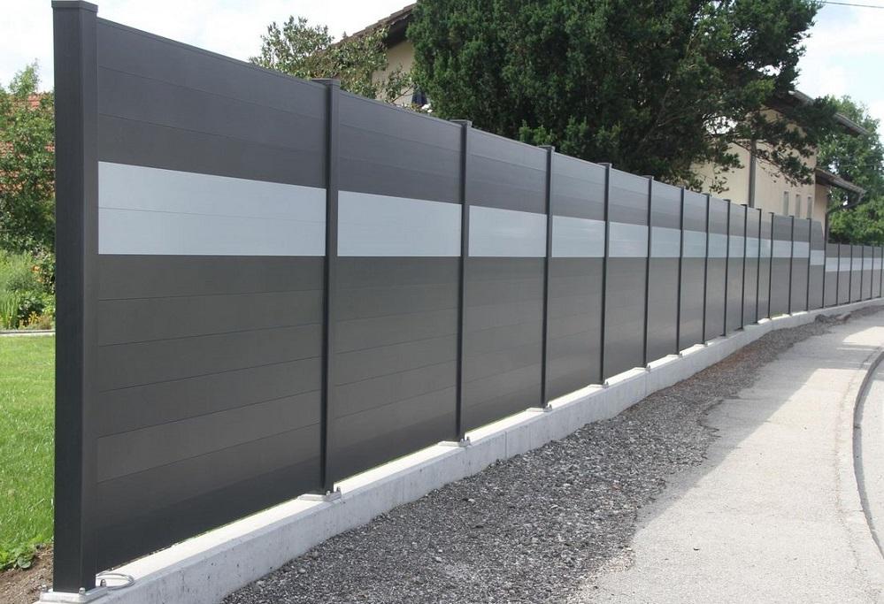 Clôture aluminium > BRISE VUE OU PARE VUE