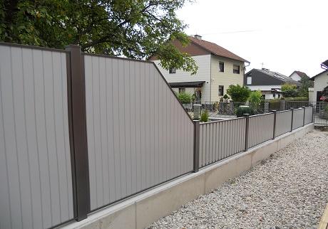 Clôture aluminium > REMPLISSAGE LATTES