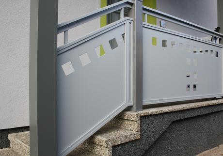 Garde corps aluminium > Flat Design